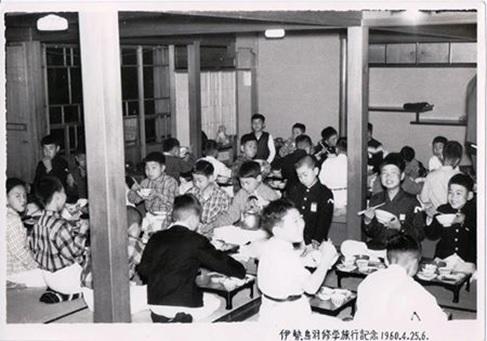 55年前の小学校の修学旅行写真